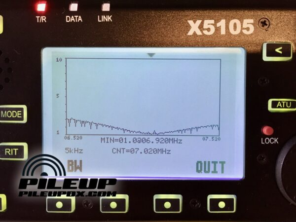 X5105 SWR Scan