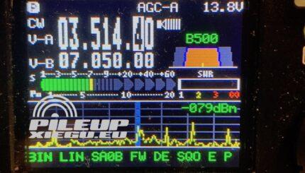 G90 CW Decode (Xiegu.eu)